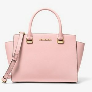 Michael Kors Medium Selma Blush Satchel